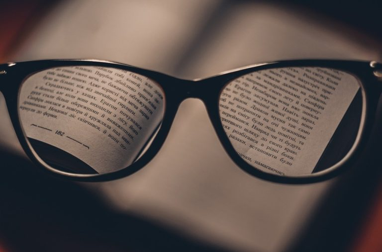Sprawdź czy potrzebujesz okularów do czytania